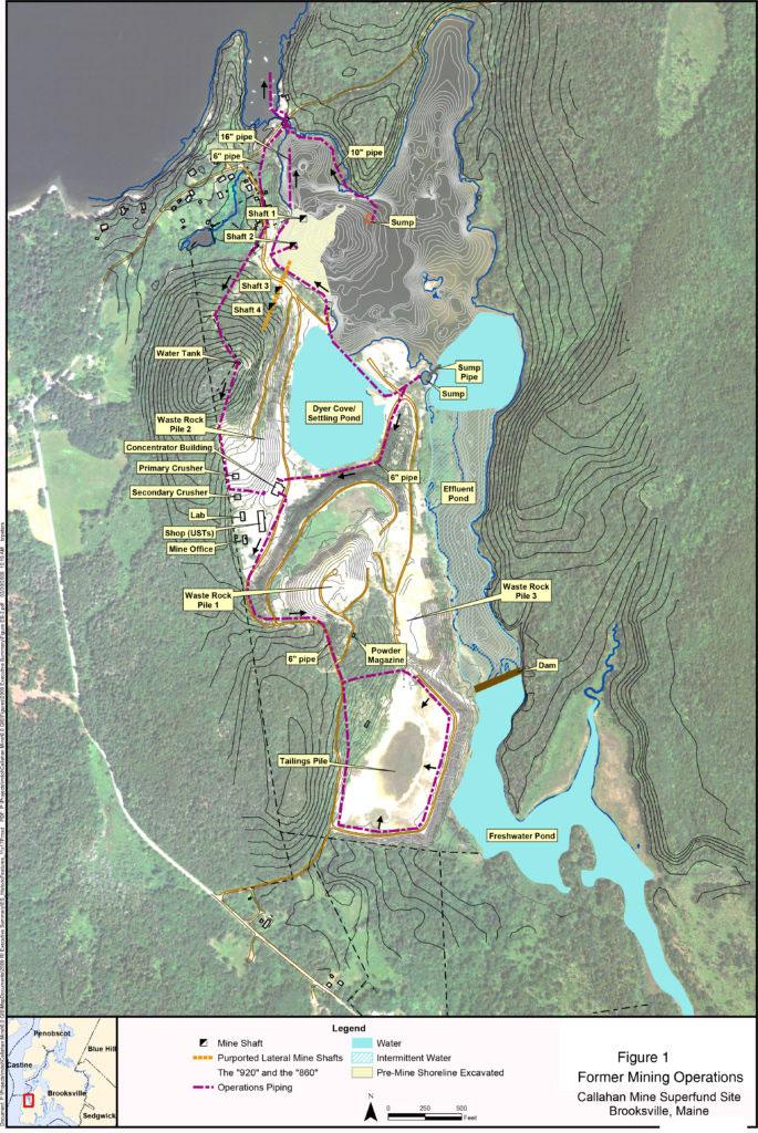 Callahan Mine Superfund Site USEPA